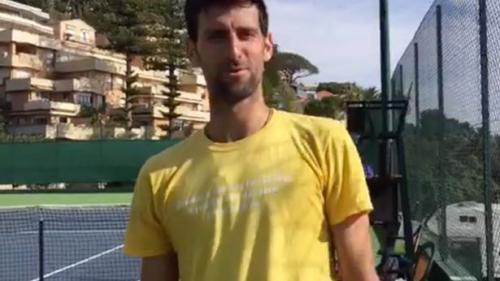 Novak Djokovic a fost certat de soţia lui în timp ce transmiteau live pe Facebook