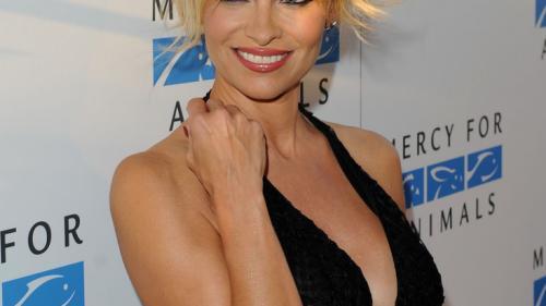 Este Pamela Anderson într-o relație cu fondatorul WikiLeaks? Ce spun cei doi