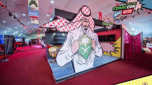 """Saudiții, îngroziți de prima ediție a Comic-Con din țara lor: """"Indecență și desfrâu"""""""