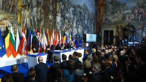 Declarația de la Roma semnată de Iohannis! Uniți, dar cu mai multe viteze!