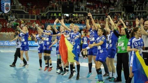 Handbal: CSM București, tot mai aproape de un nou titlu de campioană națională