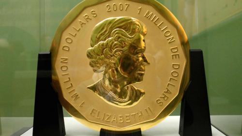 Cea mai mare medalie de aur din lume, de 100 de kilograme, a fost furată de la Muzeul Bode din Berlin
