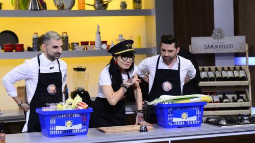 """DJ Wanda a învățat să gătească special pentru """"Chefi la cuțite"""""""
