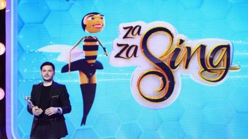"""Au început filmările pentru show-ul """"Zaza Sing"""""""