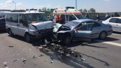 Accident deosebit de violent în Medgidia