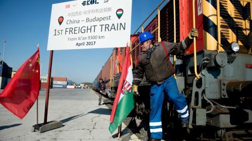 Primul tren de marfă din China a ajuns în Ungaria