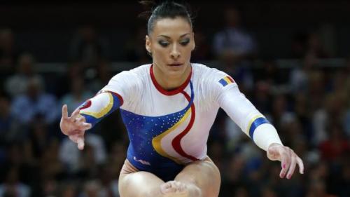 Cătălina Ponor, campioană europeană la bârnă la CE de la Cluj-Napoca, Larisa Iordache - medalie de bronz