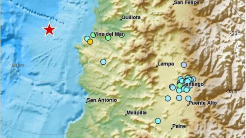 Un seism cu magnitudinea 6,1 s-a produs în centrul Chile