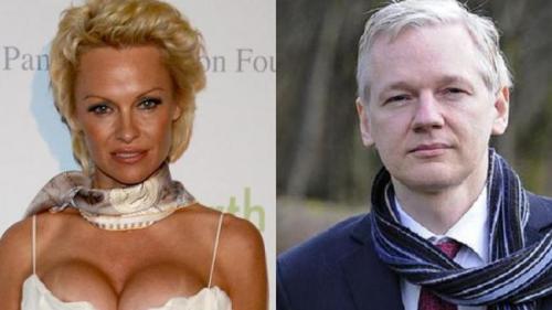 Pamela Anderson cere Franţei să acorde azil fondatorului WikiLeaks