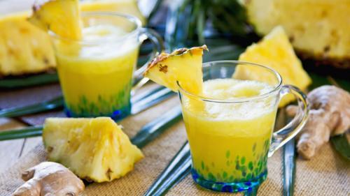 Binomul ananas-ghimbir te ajută să slăbești repede și sănătos