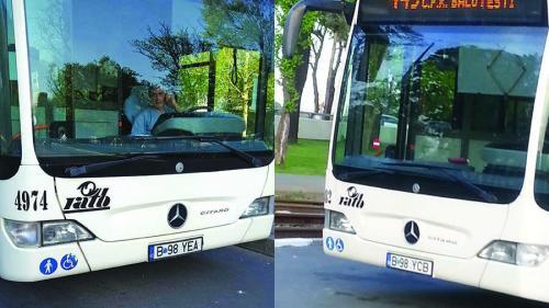 Bucureştenii, vânați cu autobuze-capcană