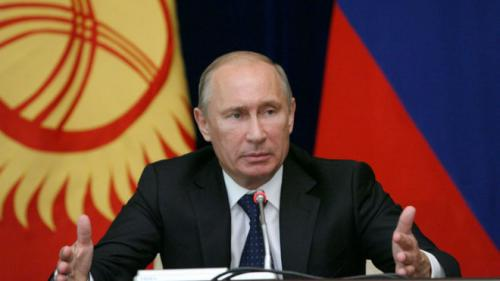 PUTIN PESTE TOT ! Presedintele Rusiei i-a premiat pe câștigătorii cursei de F1 de la Soci