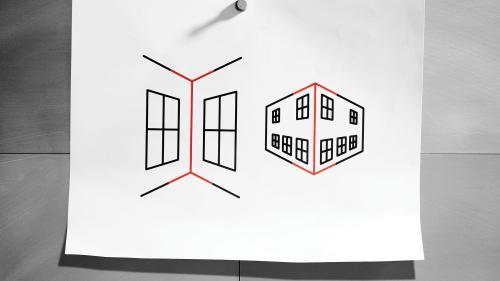 Ai impresia că liniile din imagine au lungimi diferite? Te înșeli: explicația pentru iluzia optică