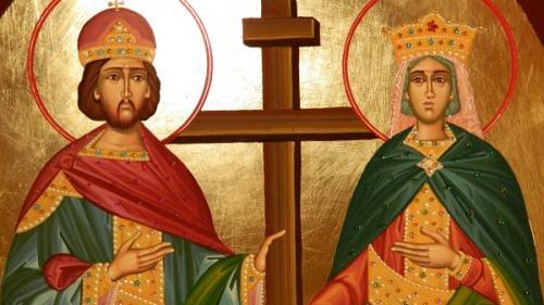 Sărbătoarea zilei: Sfinții Mari Împărați și întocmai cu Apostolii, Constantin și mama sa Elena