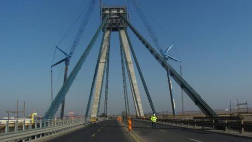 CNAIR: Circulaţia rutieră pe podul de la Agigea va fi deschisă din această noapte