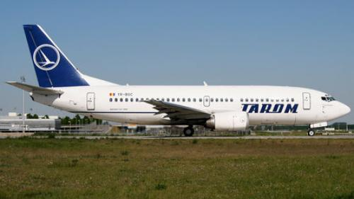 Aterizare de urgență a unui avion TAROM
