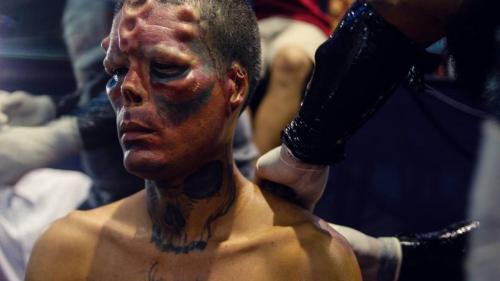 Bărbatul ce cele mai drastice modificări ale feței, prezent la Transilvania Tattoo Expo