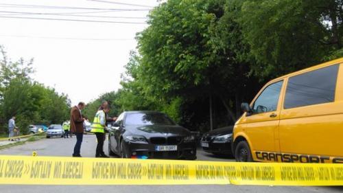 Brăila: Bărbat împuşcat în stradă. Victima se află în stare gravă la spital