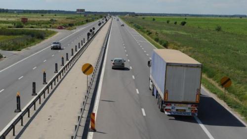 Circulaţia pe A1, redirecţionată din cauza lucrărilor de asfaltare