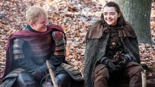 """Ed Sheeran şi-a şters contul de Twitter după reacţiile împărţite provocate de apariţia sa în """"Game of Thrones"""""""