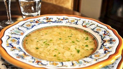 """Supă cu """"pernițe"""" (rețeta Mariei Comănelea din Prejmer)"""
