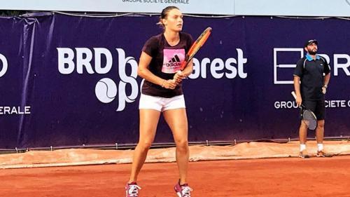 Ana Bogdan, prima jucătoare română calificată în sferturile de finală la BRD Bucharest Open