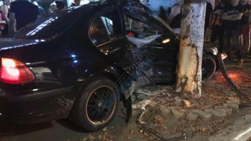 Accident în Buzău. Un barbat si o femeie au fost spulberați de pe trotuar