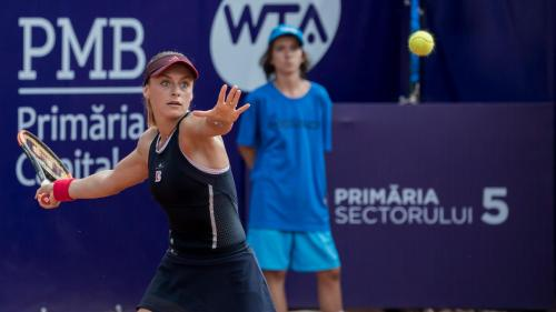 Ana Bogdan a RATAT intrarea în finala de la BRD Bucharest Open