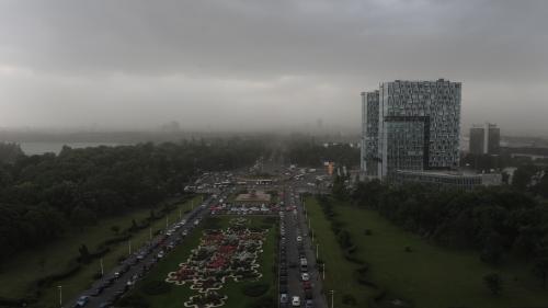 Avertizare nowcasting Cod Galben de furtună în București
