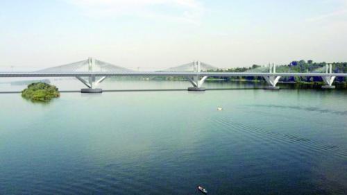 Construcţia podului de la Brăila începe cu o modificare