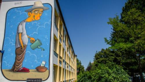Exemplu de urmat: Sibiul găzduiește singurul Circuit de Artă Stradală din lume care include școli și licee
