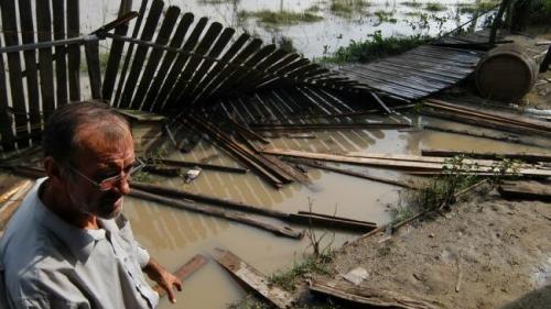 Cod galben de inundaţii pe râuri din judeţele Tulcea şi Constanţa, în următoarele ore