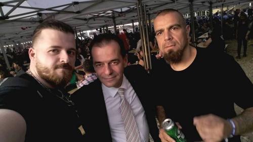 Orban, printre metaliştii de la REF 2017