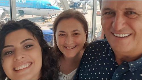 Nea Mărin, vacanță în Palma de Mallorca cu familia