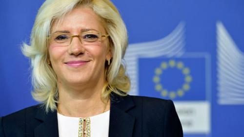 Corina Creţu a aprobat alocarea a 66,5 milioane de euro pentru continuarea a două mari proiecte de infrastructură a apei în România