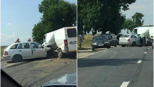 Accident dramatic pe DN4, la Livada! Traficul este restricționat pe sensul spre Olteniţa.