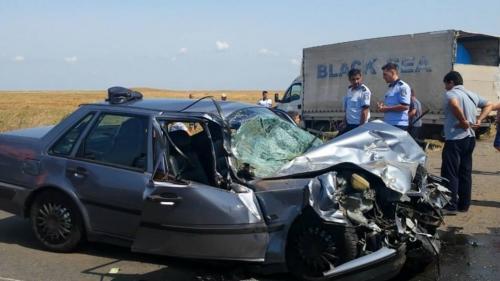 Accident grav pe o șosea din Teleorman. O femeie a fost grav rănită