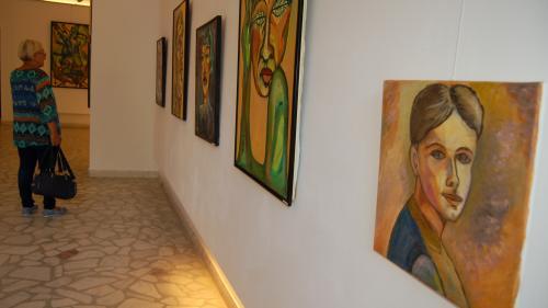 """Colegul nostru Cristinel C. Popa, expune mai multe lucrări la galeria """"Theodor Pallady"""" din Iași"""