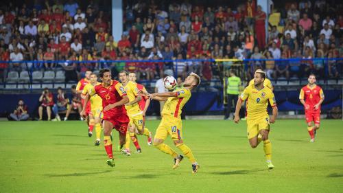 România, învinsă de Muntenegru cu 1-0. Al cincilea mondial CONSECUTIV la TV pentru echipa noastră