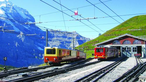 La plimbare cu trenul prin Europa