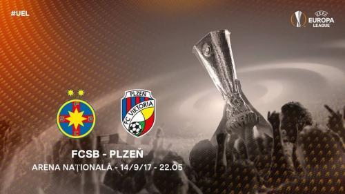 FCSB - Viktoria Plzen 3-0. Budescu și Alibec au fost sclipitori