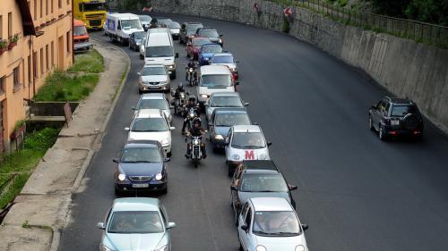 Braşov: Trafic rutier blocat pe un sens pe DN1, la Timişul de Jos