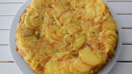 REŢETA ZILEI: Tortilla de cartofi
