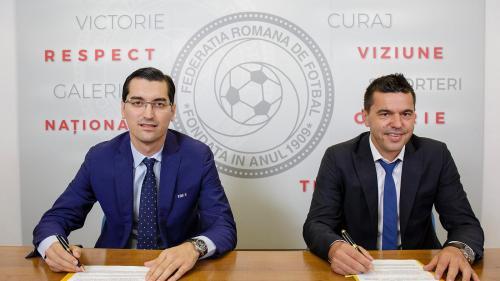Cosmin Contra este oficial selecționerul României
