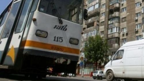 RATB suspendălinia 5 de tramvai