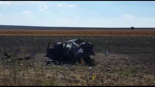 Accident TERIBIL în Constanța! O maşină în care se aflau şi jucătorii unei echipe de fotbal s-a făcut praf