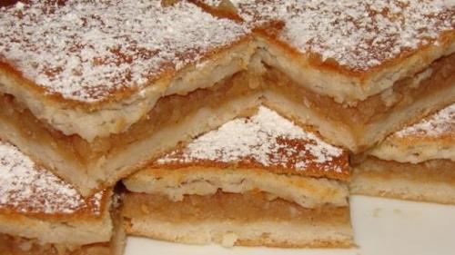 Rețeta zilei: Prăjitură cu mere