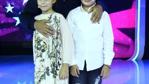 Nea Mărin, pentru prima oară alături de nepoții săi, într-un show de televiziune