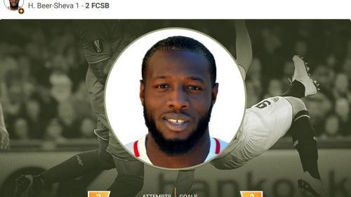 Harlem Gnohere, ales jucătorul etapei de joi din Europa League