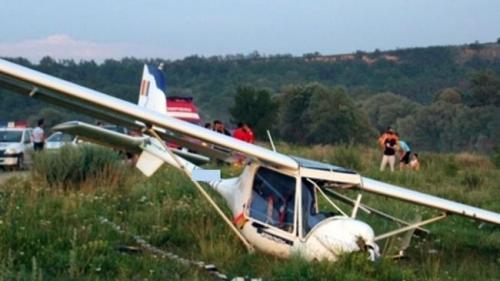 Avionul prăbușit în Alba nu era înmatriculat